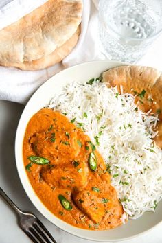 Finger Lickin' Butter Chicken - Restaurant style butter chicken right at home with simple ingredients! #butterchicken #murghmakhani #chickenrecipes | Littlespicejar.com