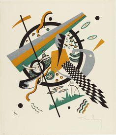 Vasily Kandinsky. Small Worlds IV (Kleine Welten IV) from Small Worlds (Kleine Welten). 1922. Lithograph