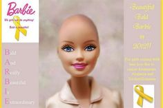 Barbie's beautiful and bald friend will soon be coming to Canadian hospitals to help children going through cancer treatments.