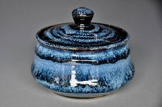 Hey, I found this really awesome Etsy listing at https://www.etsy.com/listing/576992979/turbulent-midnight-blue-ceramic-pottery
