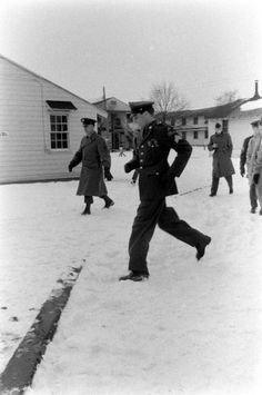 Elvis Presley at Fort Dix, New Jersey, shortly before his discharge from the U.S. Army, 1960