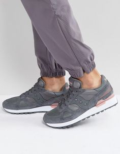 Saucony Shadow Original Sneakers In Gray S2108-650 - Gray Saucony Shadow 39e338277ce