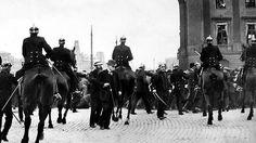 The hunger riots of 1917 Modern Times, Stockholm, Persona, Vikings, Sweden, Batman, Military, Superhero, History