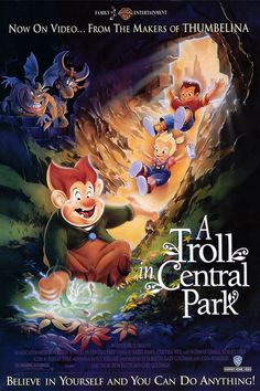 I'm a fan of most Don Bluth films, but this one just didn't cut it for me. Nice, but just...lacking.