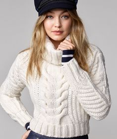 ROBE MARINIÈRE X GIGI HADID PEACOAT SNOW WHITE TOMMY