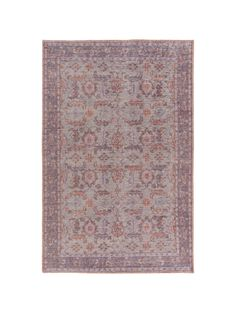 "Sauri Rug, Iris, hand knotted, 100% wool, 0.35"" pile height, 8'x11', $2,050"