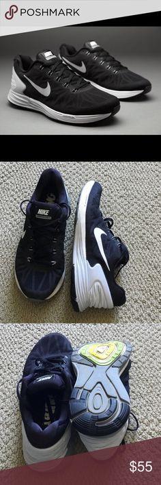 6b2a31e40404 Nike lunar glide 6 black and gray Lightly worn lunar glide 6! Size 8.5  women s