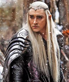 Lee Pace as the Glorious Elven King Thranduil in The Battle of the Five Armies.