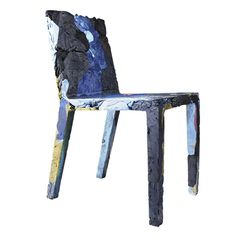Rememberme Chair in Recycled Jeans - Casamania - Colorful Cas .- Rememberme Stuhl aus recycelten Jeans – Casamania – Bunt Casamania Rememberme chair made from recycled jeans – Casamania – Colorful Casamania -