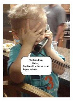 teach grandma use internet funny meme