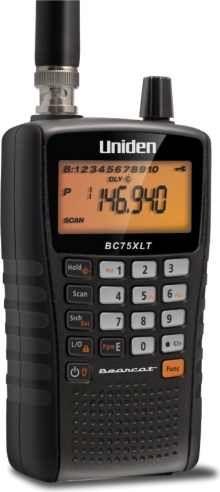 Uniden BC75XLT Radio Scanner scannerheaven.com