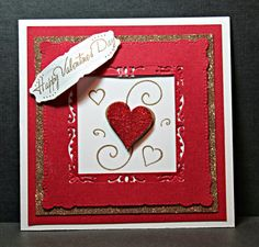 Janett's Stamping Place: Hearts and Scrolls