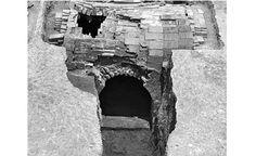 Lady Mei's brick tomb found in Nanjing, China.