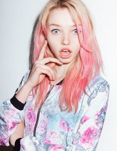 Then test a small strand of hair to make sure the color is going to come out as you hope. | Get The Candy-Colored Hair Color Of Your Dreams