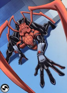 #Superior #Spiderman #Fan #Art. (Superior Spiderman) By: IX-S. (THE * 5 * STÅR * ÅWARD * OF: * AW YEAH, IT'S MAJOR ÅWESOMENESS!!!™)[THANK Ü 4 PINNING!!!<·><]<©>ÅÅÅ+(OB4E)