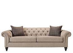 Harlow Chenille Sofa