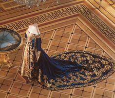 Empress Alexandra Feodorovna Court dress