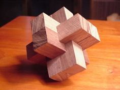 31 Free 3D Puzzle Plans for Woodworkers: Burrs, Japanese Boxes, Tangrams and MORE |