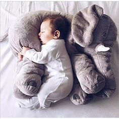 CHICVITA Elephant Stuffed Plush Pillow Pals Cushion Plush Toy I want. I want. I wantttt!