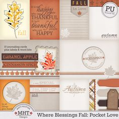 FREE Where Blessings Fall : Pocket Love By Misty Hilltops
