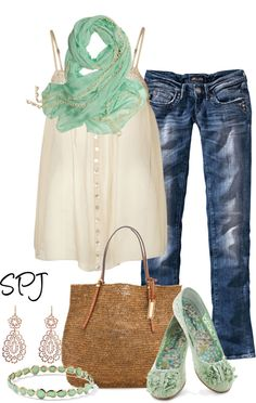 """""""Mint to be"""" by s-p-j on Polyvore"""