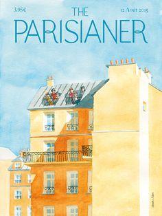Affiche Magazine //  The Parisianer