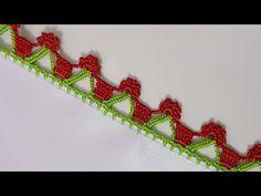 Tığ Oyası Yapımı - YouTube