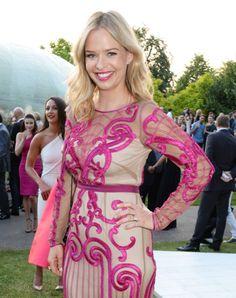 LONDON, ENGLAND - 1 July 2014: Marissa Hermer attends the Serpentine Summer Party. Marissa wears an Alice Temperley dress.