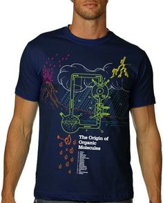 Chimie organique Tshirt Science carbone chemise par nonfictiontees
