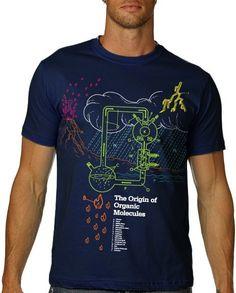 Chimie organique Tshirt Science carbone chemise par nonfictiontees