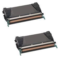 N 2PK Compatible C746H2KG Toner Cartridge For Lexmark C746DN C746DTN C746N C748DE C748DTE C748E