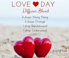 Looking for something to spice up your diffuser? These two romantic diffuser blends are sure to do the trick.