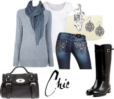 """""""Chic"""" by carchaney ❤ liked on Polyvore"""