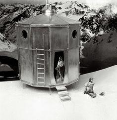 """""""Tonneau refuge"""", Charlotte Perriand und Pierre Jeanneret, 1938"""
