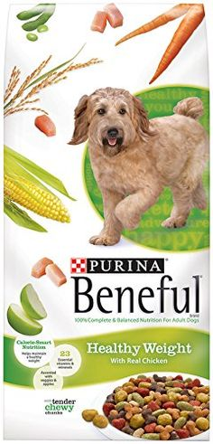 Healthy Weight Maintenance for DogsThe Beneful Healthy Weight Formula is made with wholesome and nutritious ingredients with lesser calorie