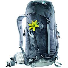 Deuter ACT Trail 22L SL Women's Hiking Backpack   Black