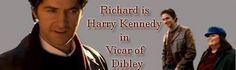 Richard Armitage as Harry Jasper Kennedy in The Vicar of Dibley (2006-2007) Fan Art