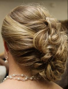 Amber's hair from Krista's wedding...love it!