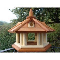 Exclusive Wooden Bird Table House, Feeder in Garden & Patio, Garden Ornaments, Bird Baths, Feeders & Tables | eBay!