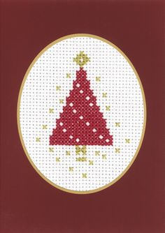Christmas Cards - Permin UK Cross Stitch Christmas Cards, Xmas Cross Stitch, Cross Stitch Cards, Beaded Cross Stitch, Crochet Cross, Christmas Cross, Cross Stitching, Cross Stitch Embroidery, Cross Stitch Designs