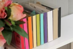 DIY Scrap Paper Library | Damask Love Blog Such an amazing concept - http://www.damasklove.com/corral-the-chaos-diy-scrap-paper-library/