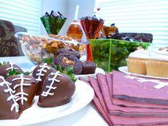 Tailgate food. Yum!! #SnickersMinis