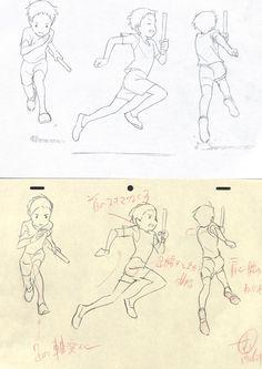 埋め込み Animation Storyboard, Animation Reference, Drawing Reference Poses, Drawing Poses, Cool Drawings, Drawing Sketches, Running Pose, Comic Book Layout, Animation Tutorial