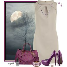 """""""Contest: The Man In The Moon"""" by exxpress on Polyvore"""