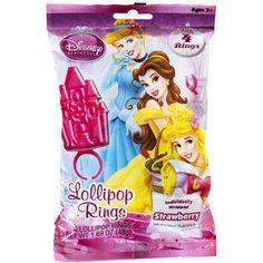 Disney Princess Party Lollipop Rings, 4pk