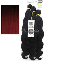 "Organique Body Wave 24""26""28"" - Color OT530 - Blend Weaving - 3 pcs"