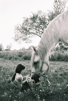 How come I never had a horse when I was little??