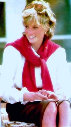 Princess Diana...love the wind-blown hair w/sunglasses.  Rarely was Diana photographed with hair that did not appear perfect.