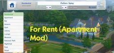Lana CC Finds — For Rent (Apartment Mod) by simmythesim (Sims 4)...
