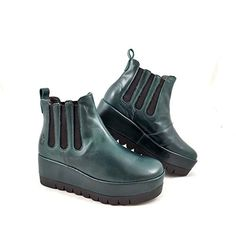 official photos 5d5c2 5df09 Women s Fly London Bail Super Chunky Pull On Ankle Boot EU 38   UK 5 Petrol